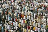 Islamic Prayers at the Taj Mahal — Stock Photo