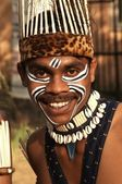 Tribal Man — Stock Photo