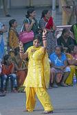 Bollywood ballando — Foto Stock