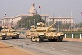 Tanks on Parade — Stock Photo