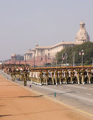 Indian Army on Parade — Stock Photo