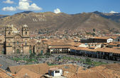 Cuzco Town Square — Stock Photo