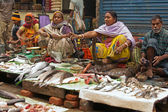 Calcutta Fish Market — Stock Photo