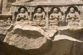 Religious Figures at Ajanta Caves — Stock Photo