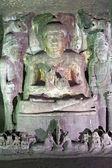 Starověké skalní chrám — Stock fotografie