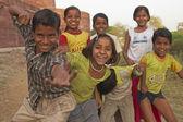 Boisterous Children — Stock Photo