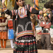 Kalbelia Dancer Performing — Stock Photo