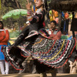 Rajasthani Dancer Performing — Stock Photo