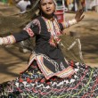 Rajasthani Kalbelia Dancer — Stock Photo