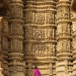 Tourist at Khajuraho — Stock Photo