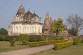 Hindu Temples at Khajuraho — Stock Photo