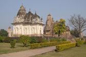 Hinduiska tempel i khajuraho — Stockfoto
