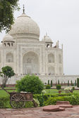 Garden Maintenance at the Taj — Stock Photo