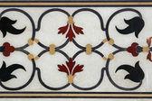タージ ・ マハルの装飾的な細部 — ストック写真