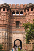 Entrance to the Red Fort — Stock Photo