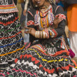 rajasthani dancer — Stock Photo