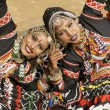 Tribal dansers van india — Stockfoto