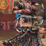 Rajasthani Tribal Dancer — Stock Photo