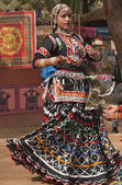 Rajasthani Tribal Dancer — Stock Photo