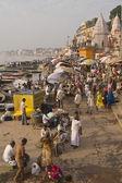 Bathing Ghats of Varanasi — Stock Photo