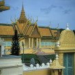 Cambodian Royal Palace - Stockfoto