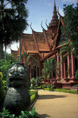 柬埔寨博物馆 — 图库照片
