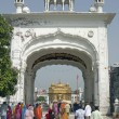 Stock Photo: Entrance to Golden Temple