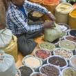 Spice Man at Work — Stock Photo