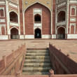 Tomb of Mughal Emperor Humayun - Stock Photo