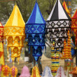 Tibetan Lanterns — Stock Photo