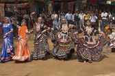 Tribal Dancers Performing — Stock Photo