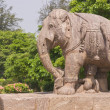 Stock Photo: Statue of War Elephant