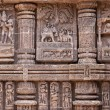 Foto Stock: Ancient Temple Carvings