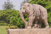 Statue of a War Elephant — Stock Photo