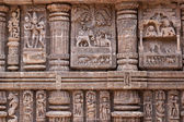 Ancient Temple Carvings — Stock Photo