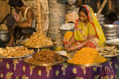 Indian Sweet Stall — Stock Photo