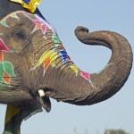 Постер, плакат: Elephant Salute