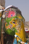 Decorated Elephant — Foto Stock