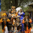 Stockfoto: Tribal Dance Troupe