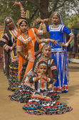 Kalbelia Dancers — Stock Photo