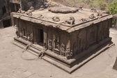 Hinduistické skalní chrám — Stock fotografie