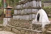 świątynia buddyjska — Zdjęcie stockowe