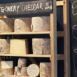 Cheese at Borough Market — Stock Photo