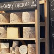 Stock Photo: Cheese at Borough Market