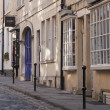 Historic Cobbled Street - Foto Stock