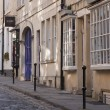 Stock Photo: Historic Cobbled Street