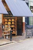 Historic Cheese Shop at Borough Market — Stock Photo