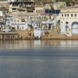 Stock Photo: Sacred Lake inPushkar In India