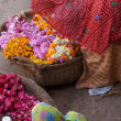 Stock Photo: Flower Sellers