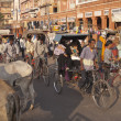 Stock Photo: Street Scene in Jaipur